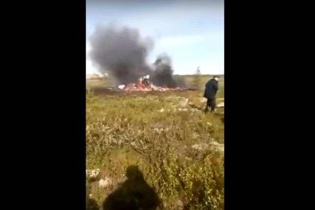 В Красноярском крае разбился вертолет с 18 пассажирами. ВИДЕО