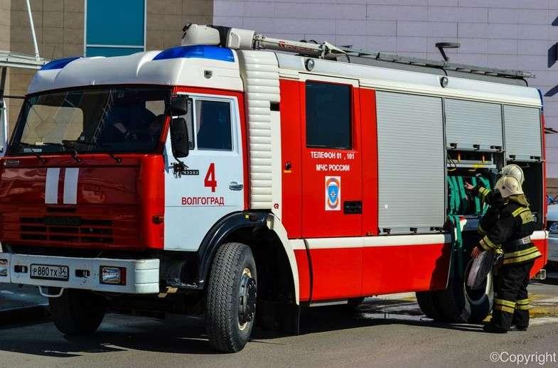 В МЧС назвали причину пожара в ВолГАУ