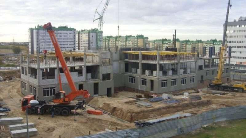 Стройку в волгоградском микрорайоне «Комарово» завершат до конца года