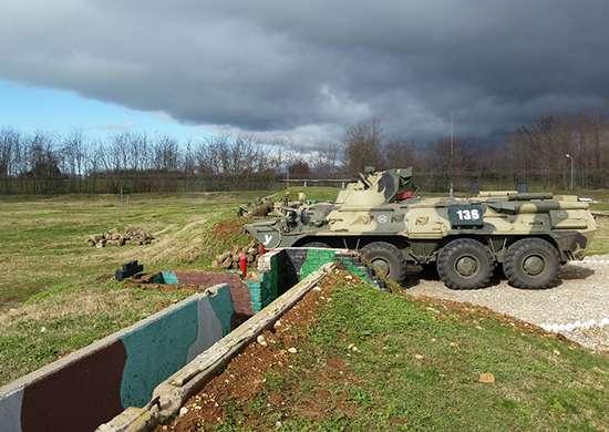 Под Волгоградом оценивают боевую подготовку военнослужащих