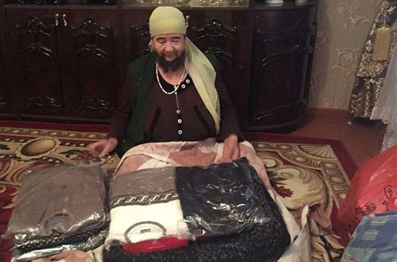 Жительница Казахстана гордится своей бородой
