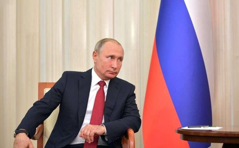 Владимиру Путину исполнилось 66 лет