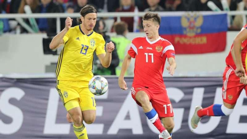 Футбольная сборная не одолела шведов
