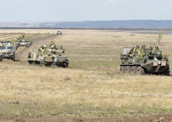У волгоградских военных закончилась итоговая проверка