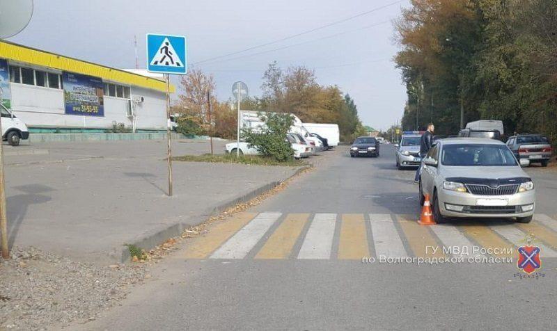 В Волгограде водитель на иномарке сбил 8-летнего ребенка