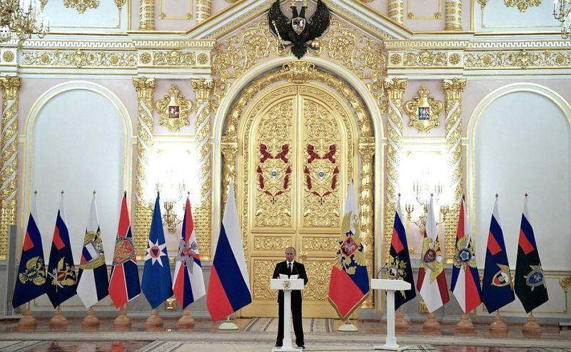 Владимир Путин сообщил о предотвращении 26 террористических преступлений в 2018 году