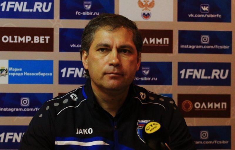 Роберт Евдокимов после матча с «Мордовией»: «Наша беда – это стандарты»