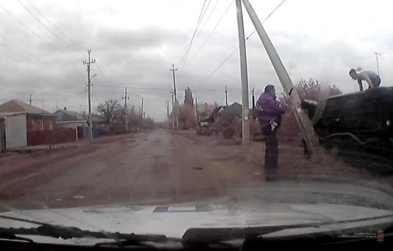 В Михайловке полицейские применили табельное оружие