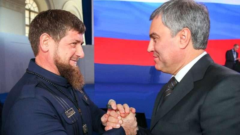 Вячеслав Володин поздравил Чечню с двумя праздниками