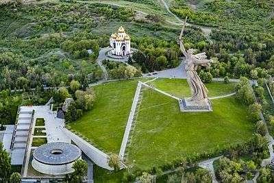 Монумент «Родина-мать зовет!» закроют на целый год
