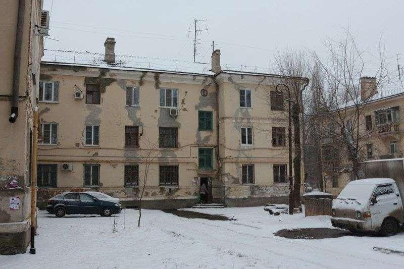 В Волгоградской области более 400 многоквартирных домов признаны аварийными