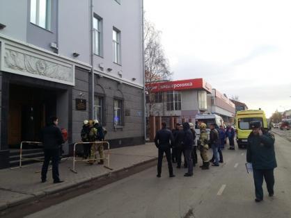 СК: взрывное устройство в здание ФСБ в Архангельске принес подросток