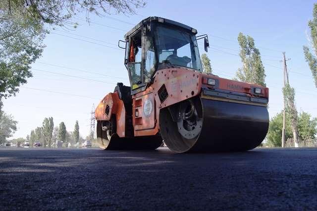 В Волгограде закончили дорожный ремонт на улице Лазоревой