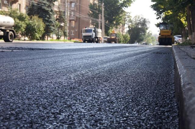 В Тракторозаводском районе Волгограда закончили ремонтировать дорогу