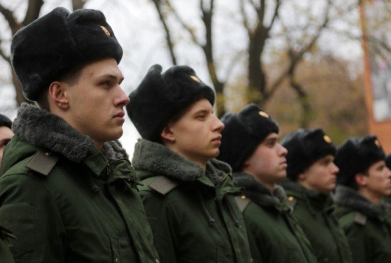 В соединение ЮВО под Волгоградом поступили первые призывники