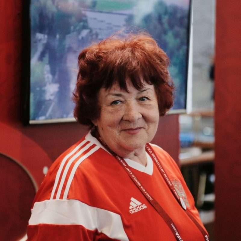 Голос Центрального стадиона Ольга Парамонова ушла из жизни