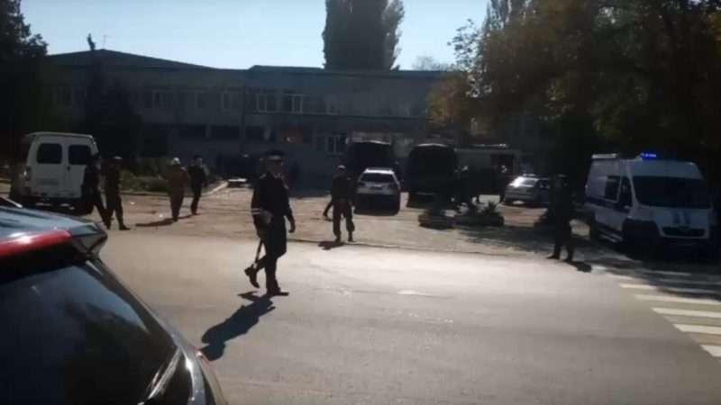 НАК: в Керчи случился подрыв неустановленного взрывного устройства