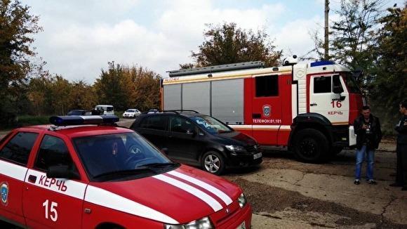Рядом с колледжем в Керчи, где произошло массовое убийство, прогремел взрыв