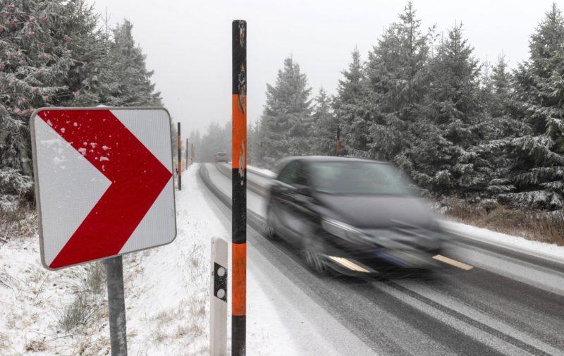 Советы по управлению автомобилем в зимний период