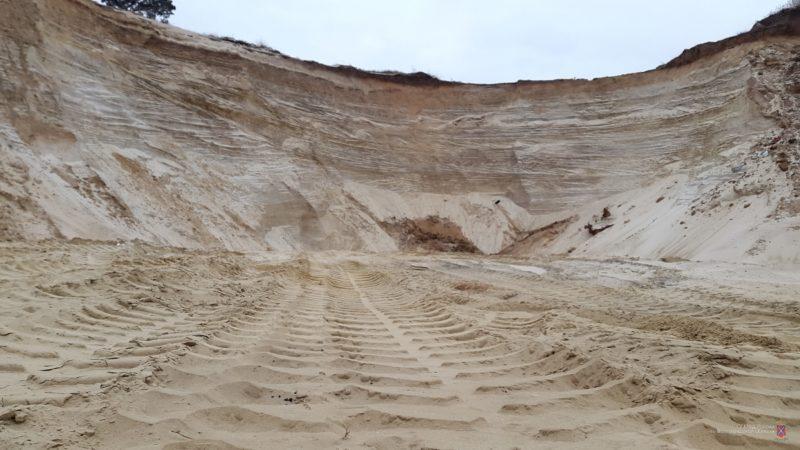 В Волгограде возбуждено уголовное дело по факту незаконной добычи песка