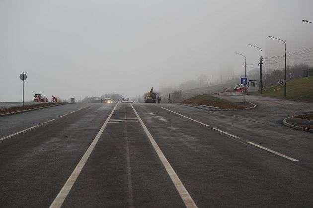 С 19 ноября на перекрестке Циолковского и Калинина изменится схема проезда