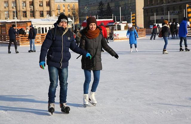 Где в Волгограде можно покататься на коньках? Опубликован список ледовых площадок