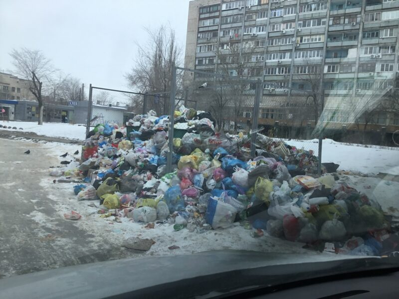 Общественники не оценили работу регоператора по вывозу мусора в Волгограде