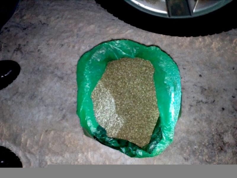 В Михайловском районе у водителя изъяли 1,5 килограмма марихуаны