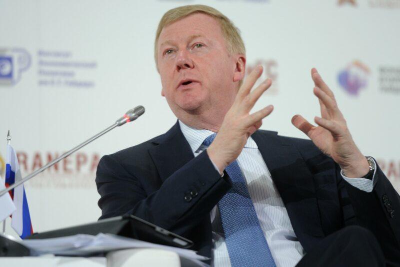 Чубайс предложил заменить представителя МИД России на Бузову