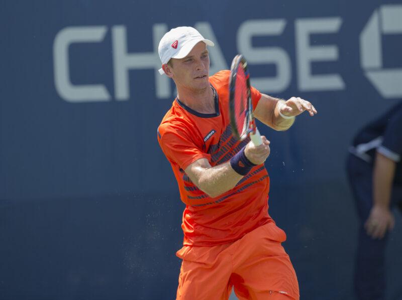 На теннисном турнире в Австралии один из волгоградцев сошёл с дистанции