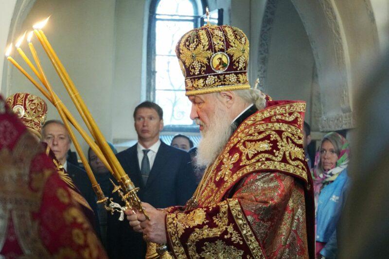 Патриарх Кирилл рассказал об антихристе во «всемирной паутине»
