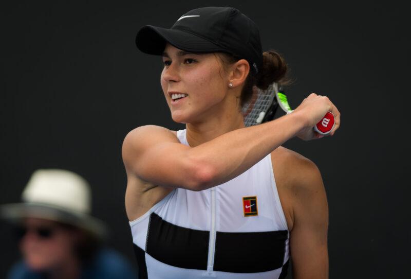 Волгоградка Наталья Вихлянцева закончила выступление на Australian Open