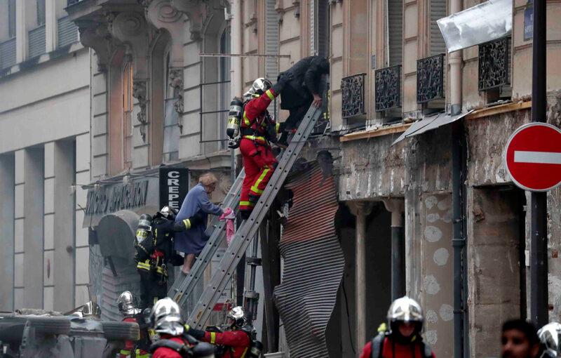 В центре Парижа прогремел мощный взрыв: много пострадавших