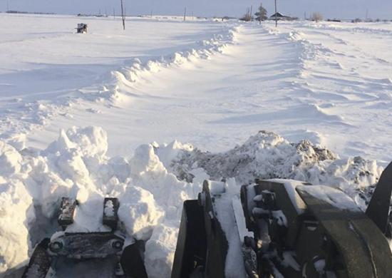 Военные расчистили подходы к важным объектам в сёлах Волгоградской области