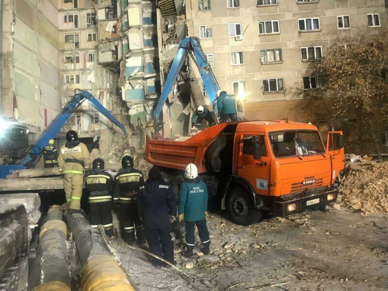 39 погибших: МЧС завершило поисковую операцию в Магнитогорске
