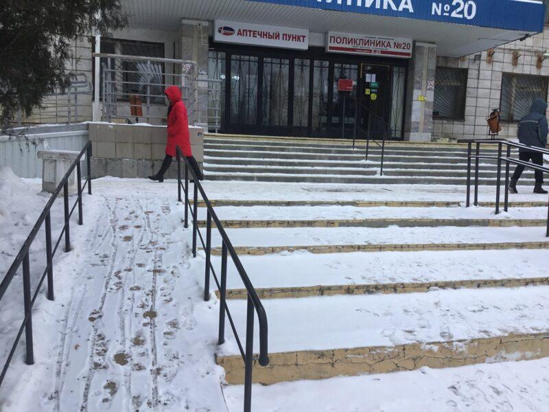 Активисты волгоградского ОНФ проверили работу коммунальщиков по уборке снега