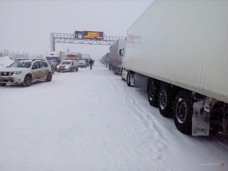 Введено ещё одно ограничение на трассе в Волгоградской области