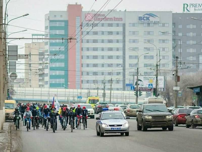 6 января в Волгограде пройдет зимний велопарад