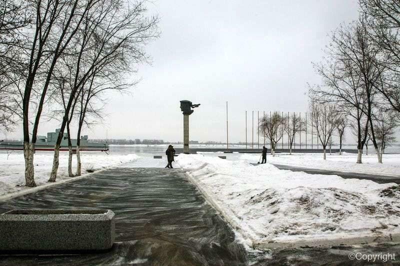 14 января волгоградцев ждет короткая передышка от снега