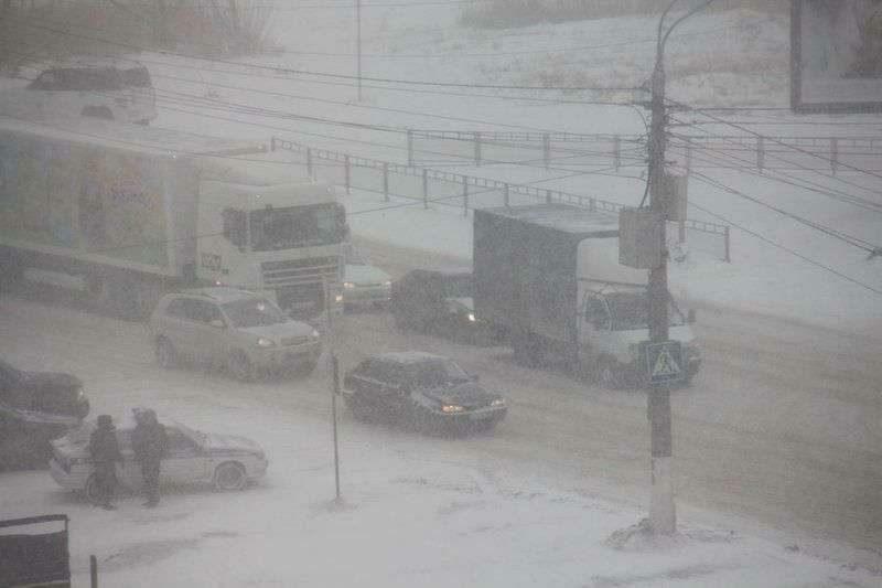 Волгоградскую область вновь заметет снегом