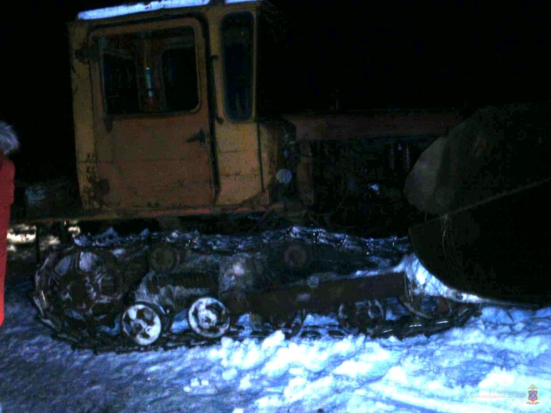 Под Волгоградом пьяный тракторист задавил коллегу