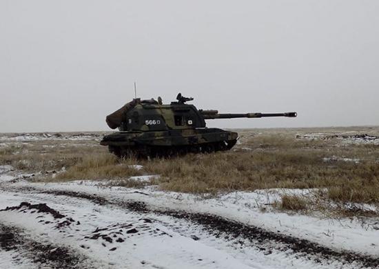Артиллеристов в Волгоградской области подняли по боевой тревоге