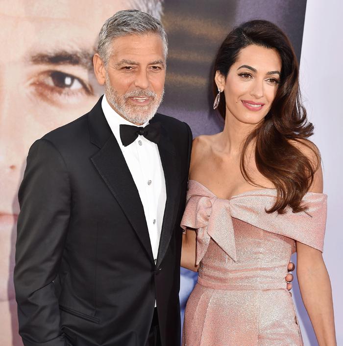 СМИ: Амаль Клуни ушла от мужа и забрала детей