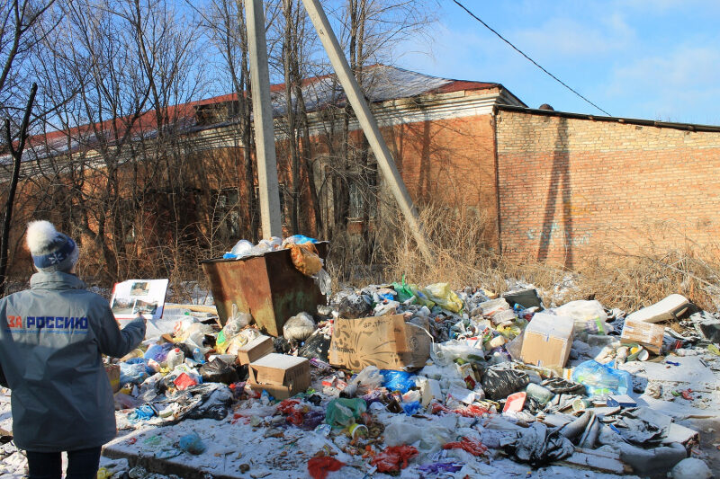 В Красноармейском районе Волгограда ликвидировали несколько свалок