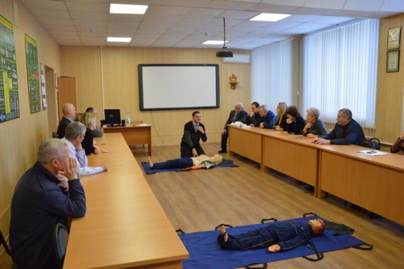 В Волгограде сотрудников крупных предприятий научили оказывать первую помощь