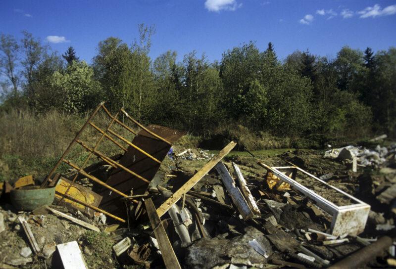 На острове Сарпинском в Волгограде планируют ликвидировать 10 свалок