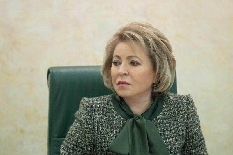 Валентина Матвиенко восхитилась красотой задержания экс-сенатора Арашукова