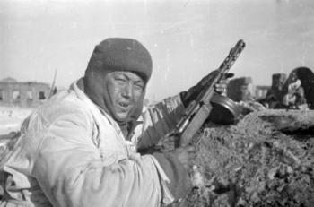 Волгоградцам показали снимки Сталинградской битвы, сделанные военными корреспондентами