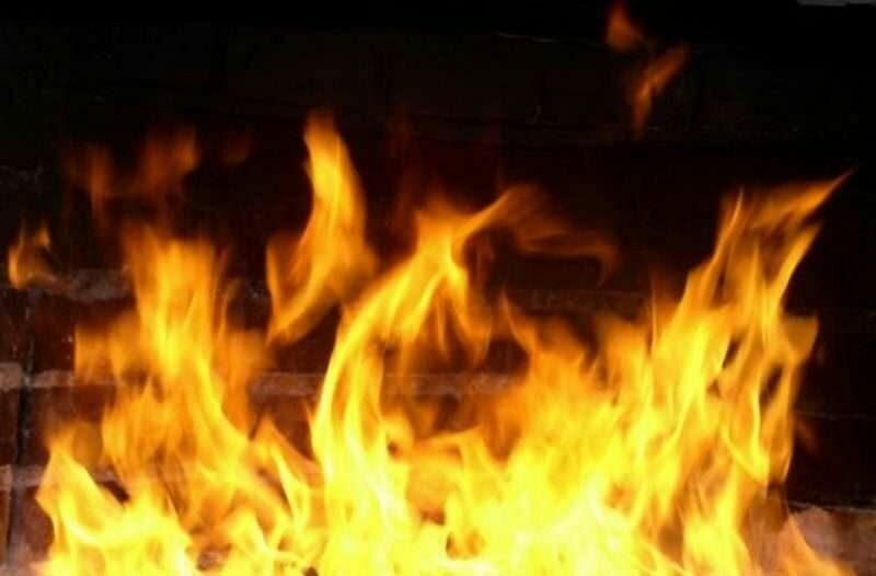 В Камышинском районе в пожаре погиб человек