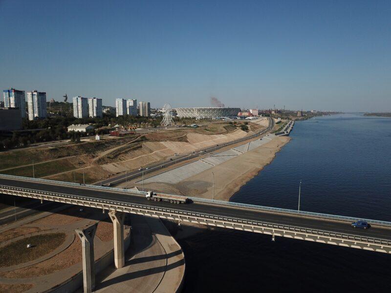 Проект по второй очереди моста через Волгу переработают почти за 38 млн рублей